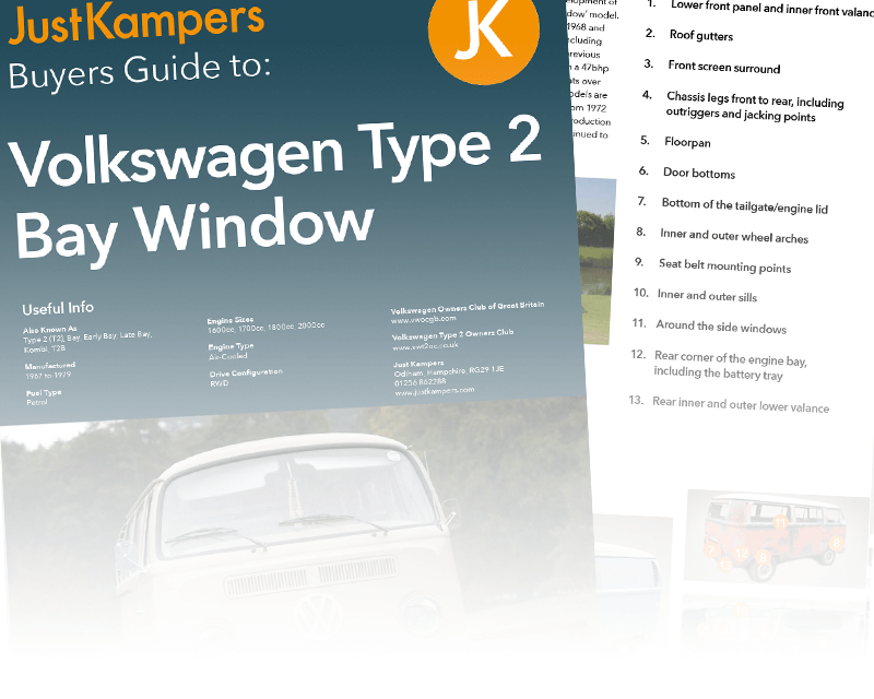 VW T2 Bay Buyers Guide