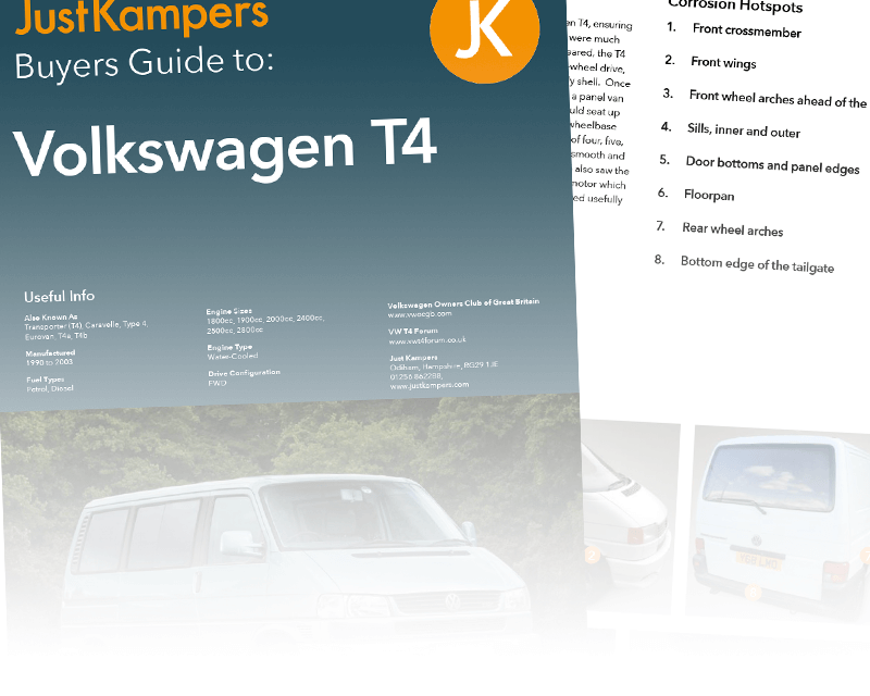 VW T4 Buyers Guide