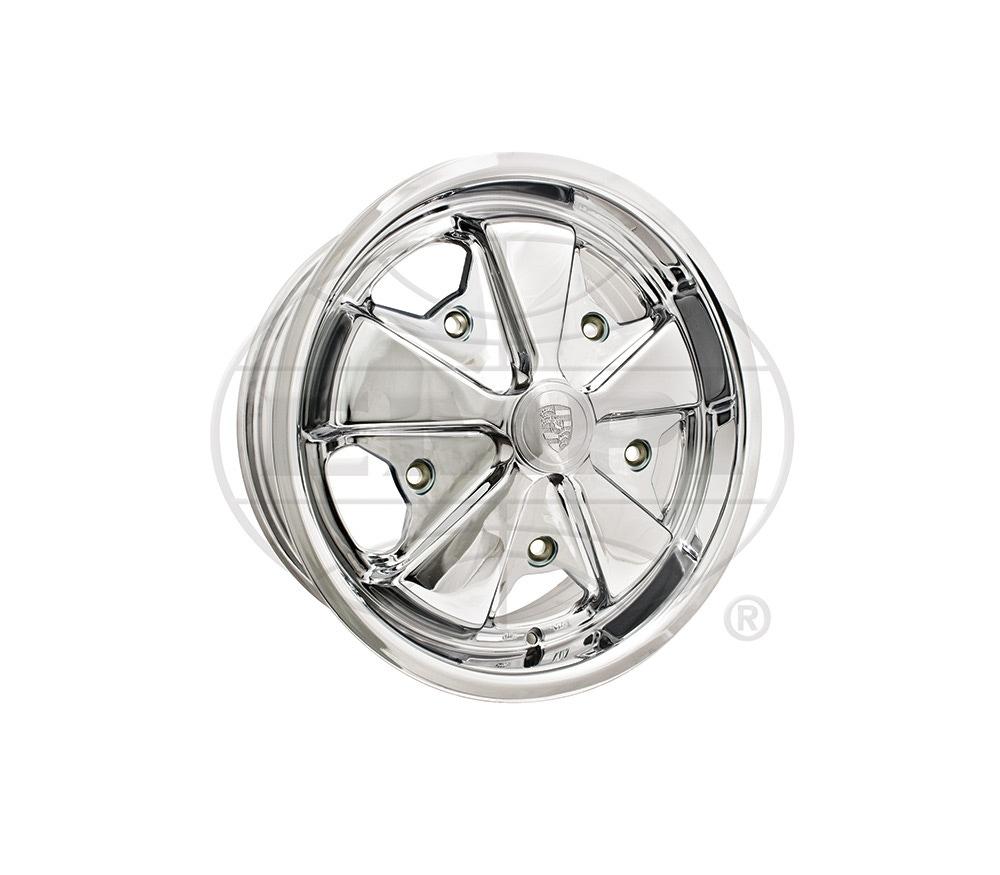 Just Kampers Standard Steel Smoothie Wheel 6x15 5x205 VW Beetle T2 Split Bay