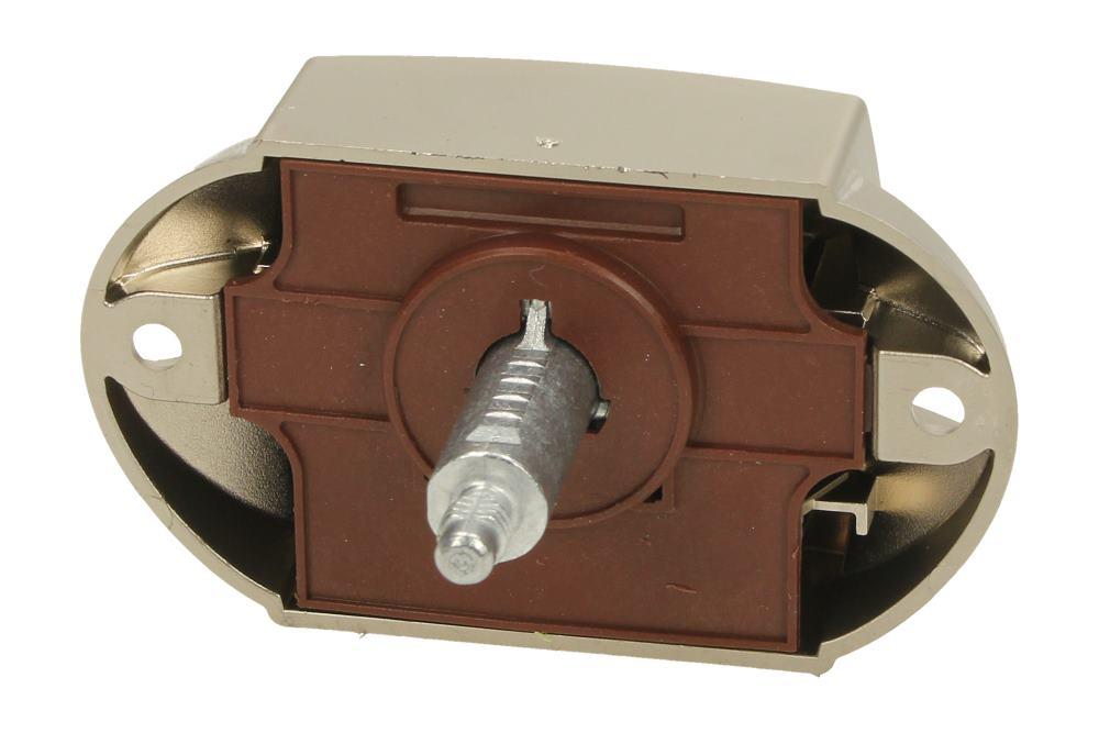Hafele Push Button Lock Rosette Matt Nickel Cupboard Camper Motorhome Caravan