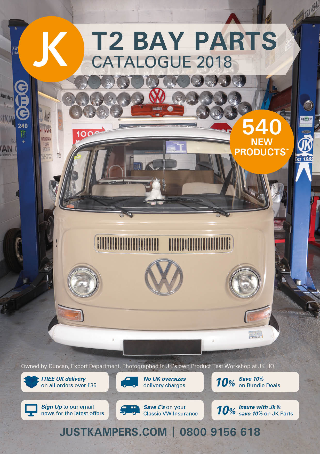 vw t2 bay window parts accessories catalogue just kampers. Black Bedroom Furniture Sets. Home Design Ideas