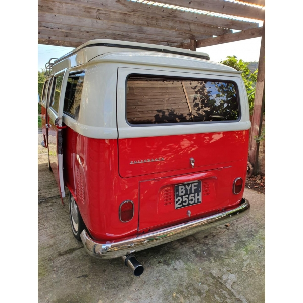 One of the Best Early Bay T2 Campers in the UK
