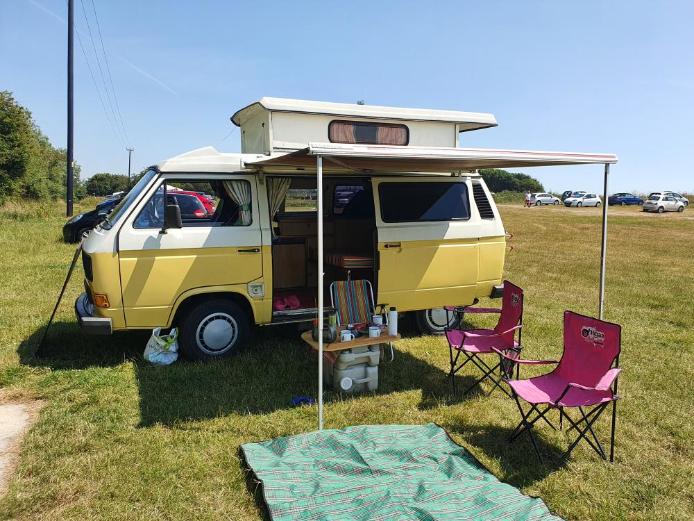 1987 Caravelle Autosleeper T25 T3 white yellow campervan(Updated)