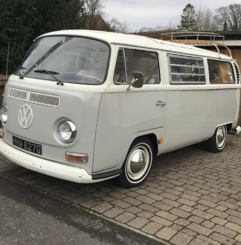 VW T2 Bay 1969 California with Paris roof
