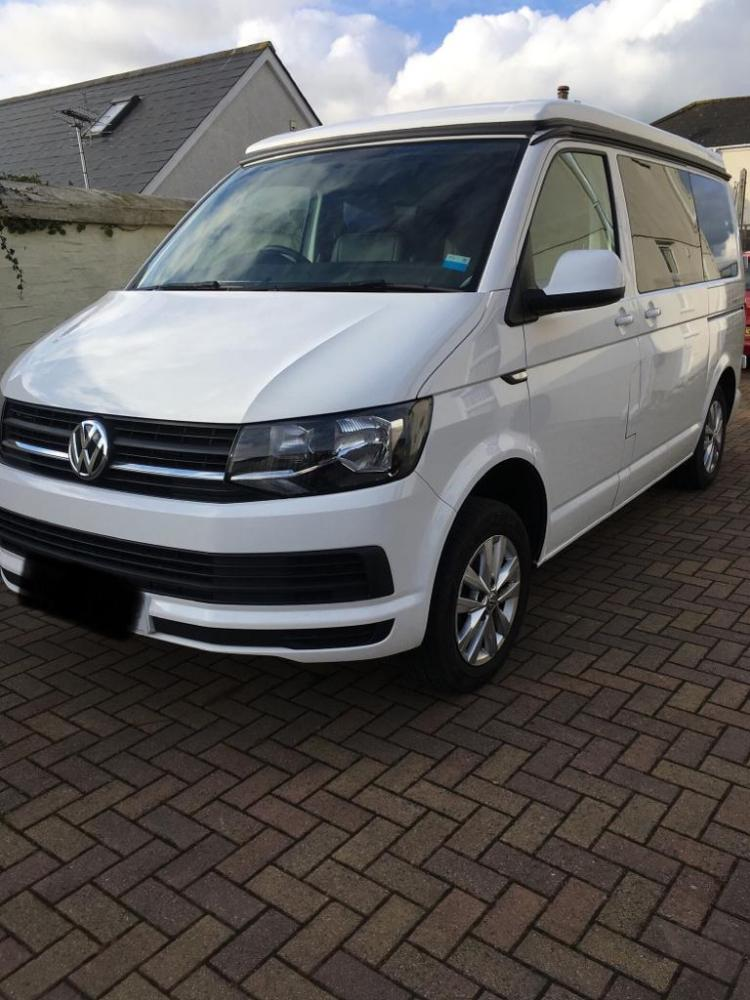 Beautiful 17 Plate VW T6 Professional Conversion