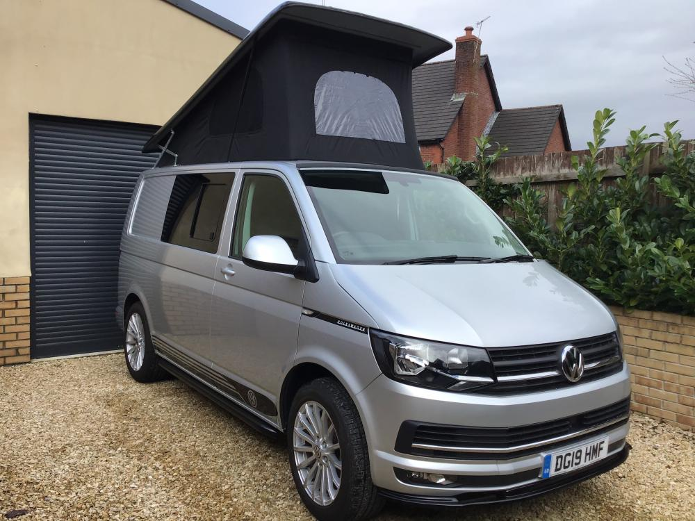 T6 CAMPERVAN 2019 HIGHLINE 4 BERTH CONVERSION. NO VAT TO PAY.