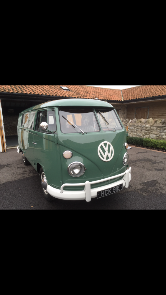 1967 VW Split screen SUNDIAL camper van - ex 'Seasick Steve' ! Beautifully restored ! Famous previous owner
