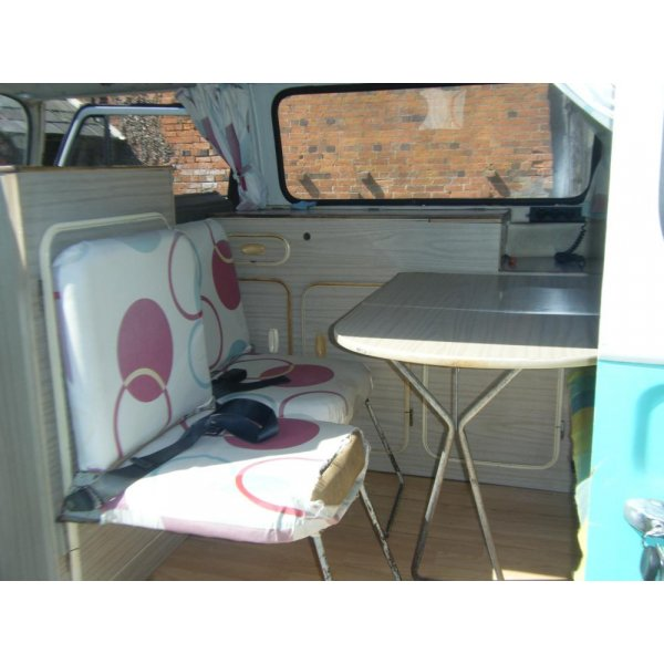 Rare 1968 T2 VW Early Bay Converted panel Van