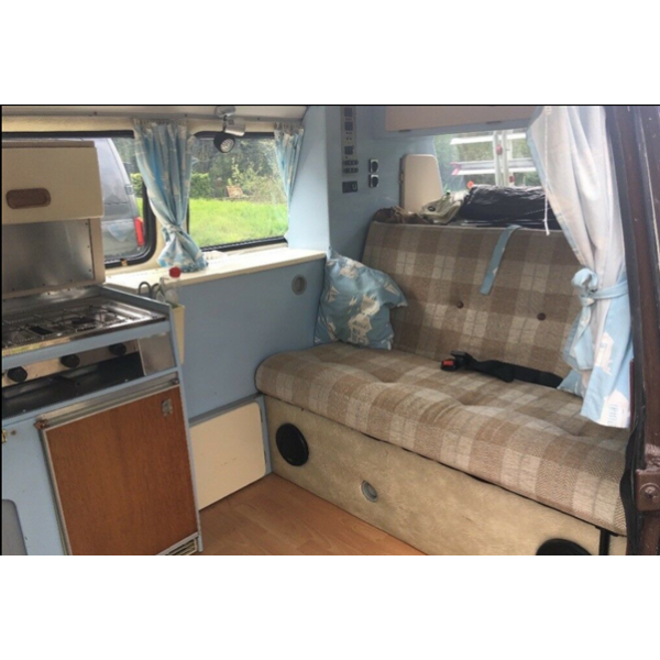 'Ivy' The much loved VW campervan is looking for a new home.