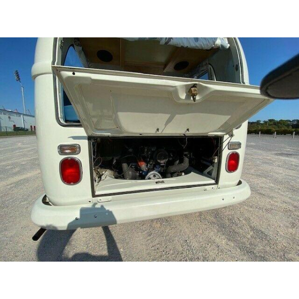 1970 Type 2 walk-through pop-top camper - Camper and Bus featured - LHD import from Oregon