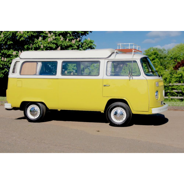 Right hand drive Australian imported 4 birth camper. 1800 type 4 engine, lowered. uprated carbs and stainless steel exhaust, compressor fridge, central heating.