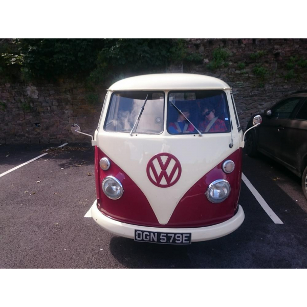 1967 Right Hand Drive VW split screen panel van with day camper interior for sale