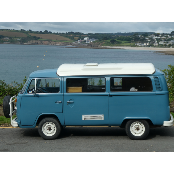 NOW REDUCED BY £2000 - 1977 Australian import 'Sopru-conversion' Kombi camper. 2 litre, right-hand drive. Full, bare-metal re-spray costing £20K in 2019.