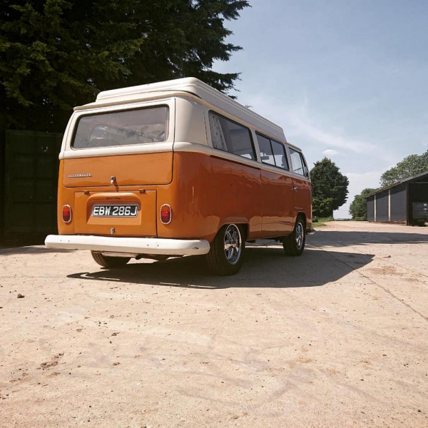 1971 Early bay camper. right hand drive Australian import. to have a brand new van Wurks interior installed and new trim, flooring and curtains