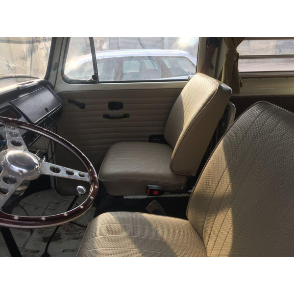 1974 Bay Window T2 Campervan With Interior For Light Restoration Nearly New Space Roof LHD Excellent Runner