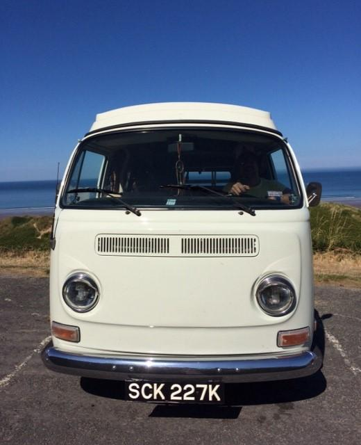 VW 1972 Bay Window Westfalia LHD California import