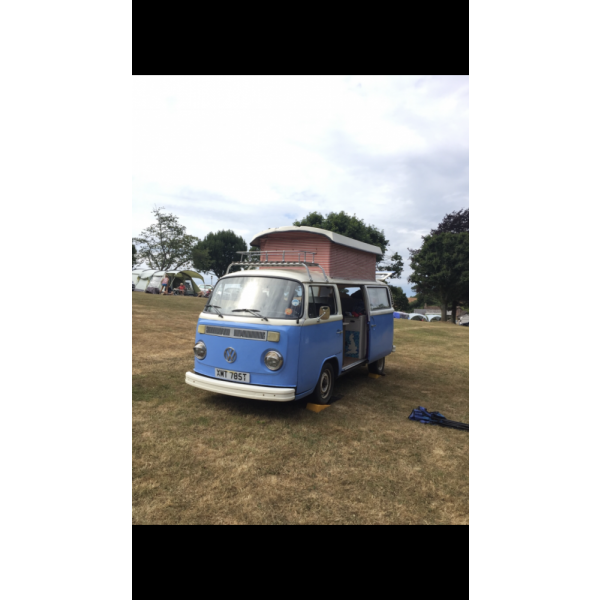 1978 T2 Pop top Bay Camper for sale in Cornwall