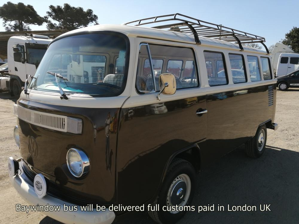 T2 bay bus fully restored available in London