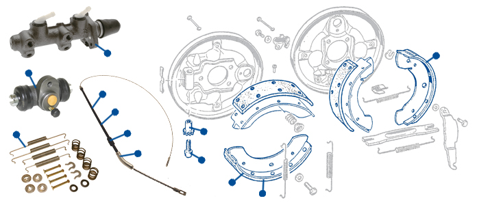 333 vw classic beetle brake master cylinders & wheel cylinders just VW Beetle Parts Catalog at bayanpartner.co