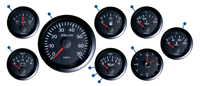 vw type 25 electrical parts just kampers vdo ammeter range 30amp to 30amp