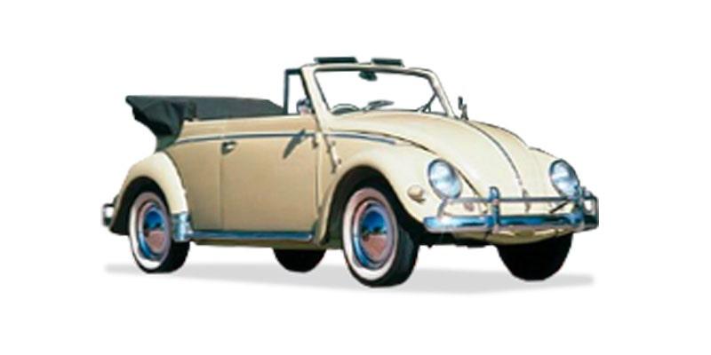 VW Beetle Cabriolet - Model History :: Just Kampers