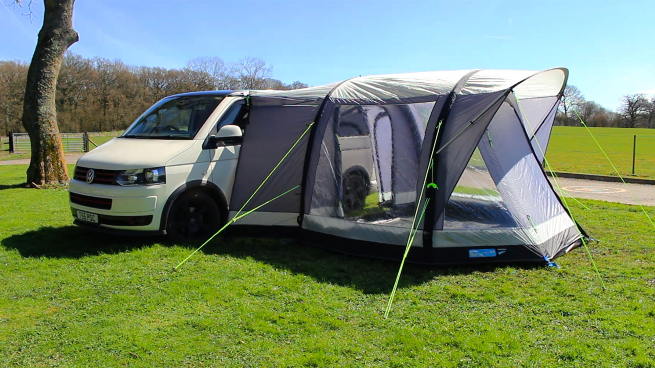 Kampa Travel Pod Action Air Driveaway Awning How To
