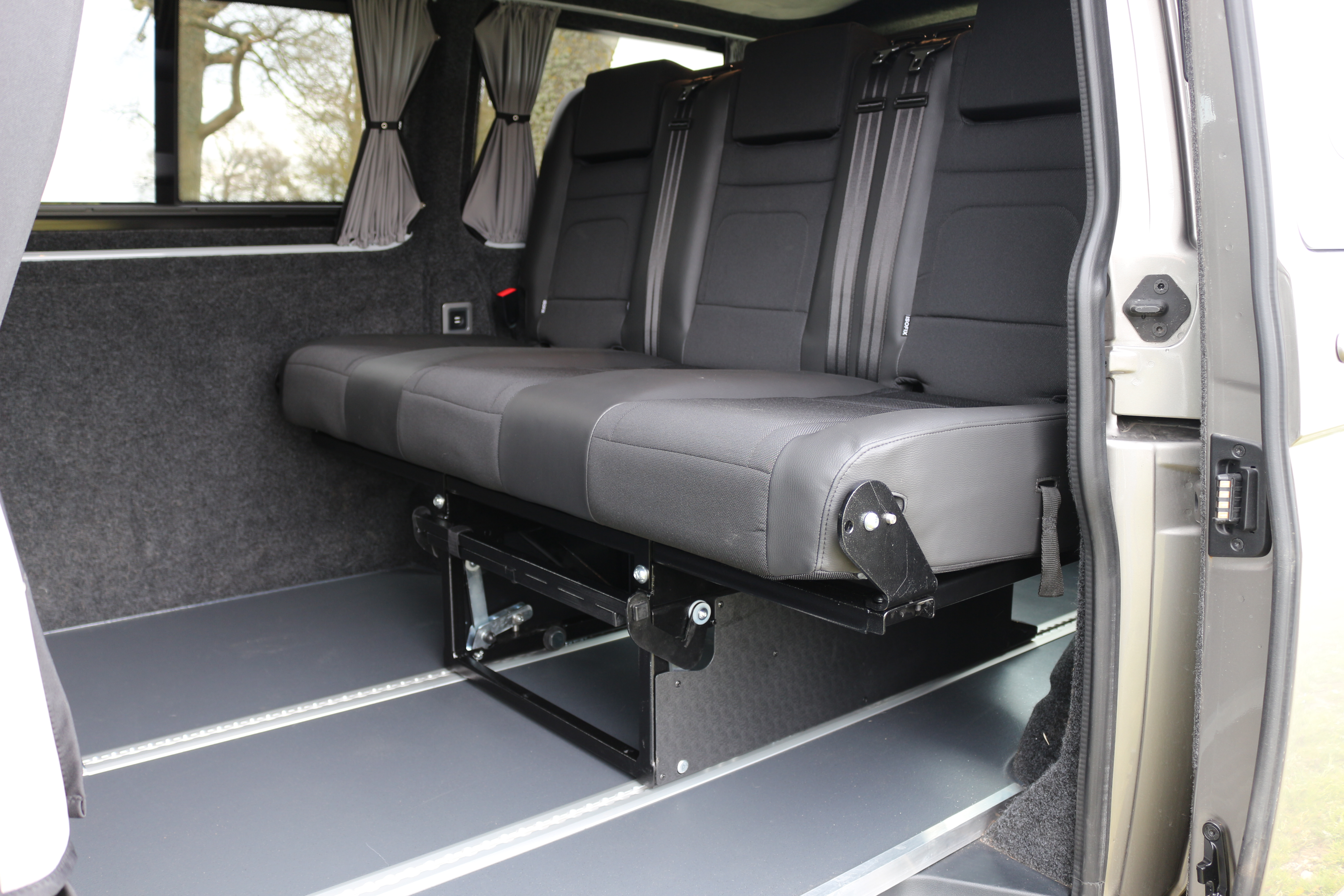 Just Kampers 3/4 Width Solution Bed System For T5/T6 Transporters