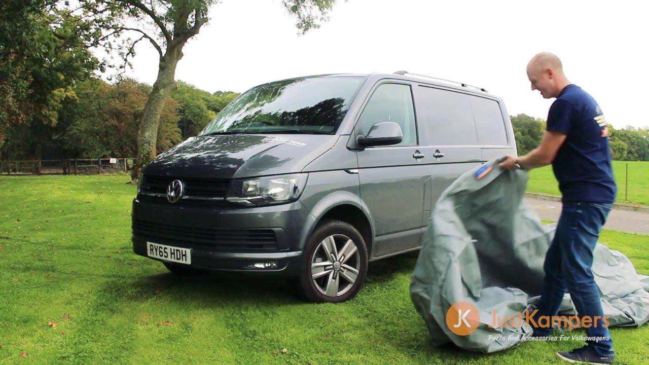 T4/T5/T6 Van Cover Demonstration - J29560