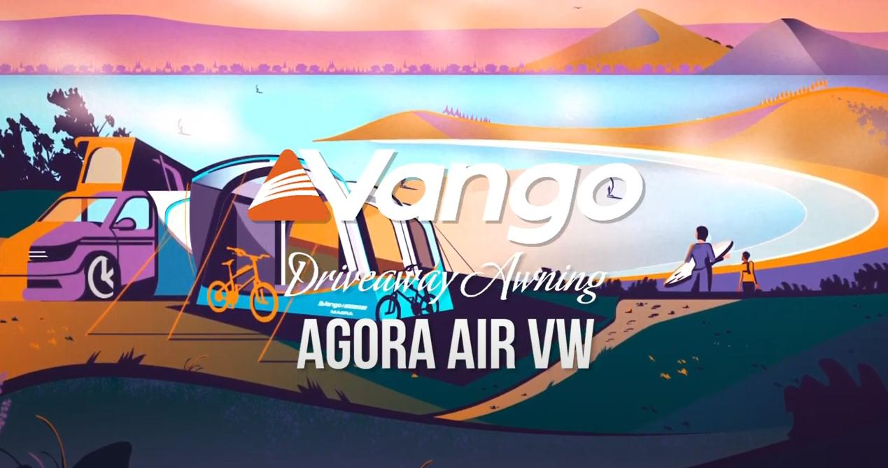 Vango Agora VW Blue Air Drive-Away Awning
