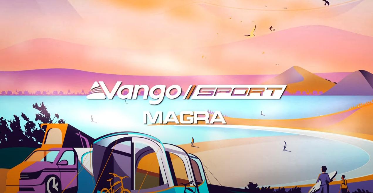 Vango Magra VW Blue Air Drive-Away Awning