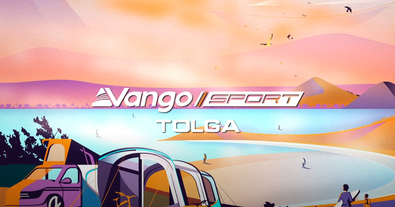 Vango Tolga VW Blue Air Drive-Away Awning