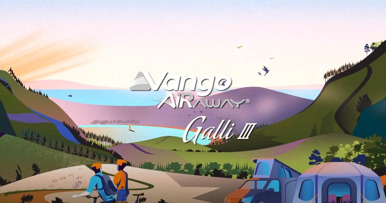 Vango Galli III RSV Low Inflatable Awning
