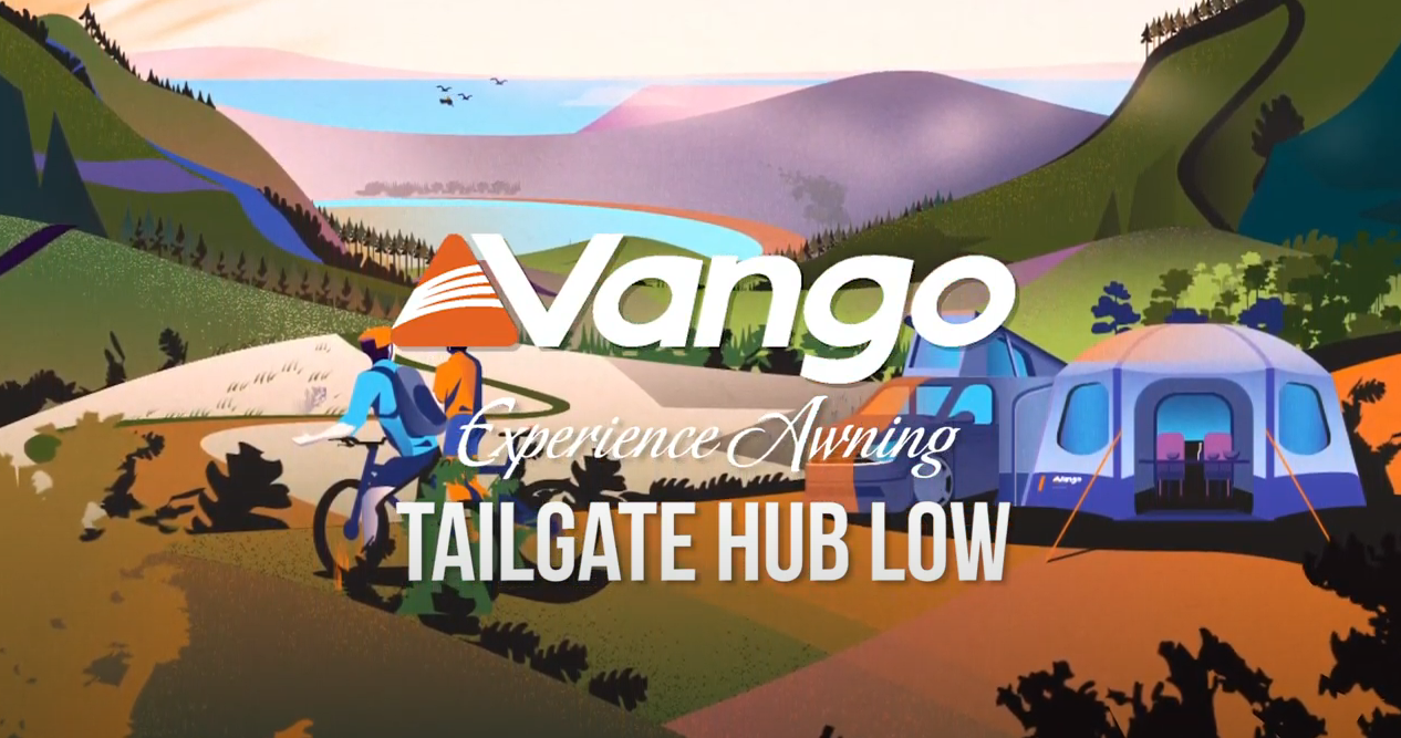 Vango Tailgate Hub Low Awning - Poled