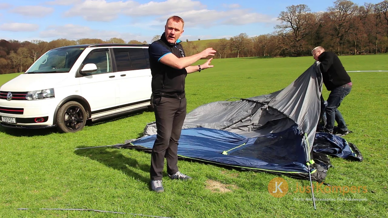 Outwell Milestone Pro Driveaway Awning (Pitching Demonstration)