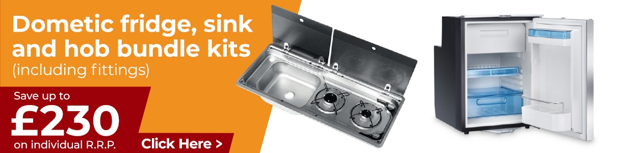 Dometic Fridge and Sink Bundles