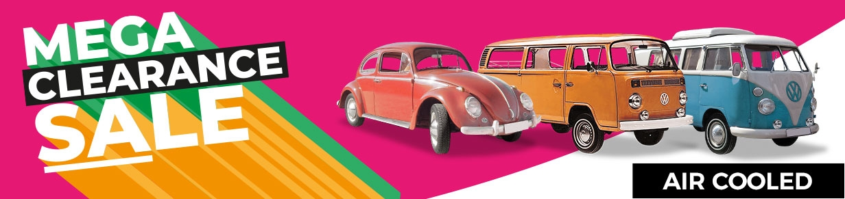Air-Cooled Cars, T2 Split & T2 Bay Autumn 2019 Discount