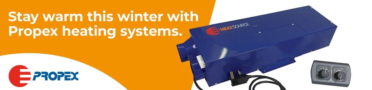 Propex Heating Systems. Camper Van Heating