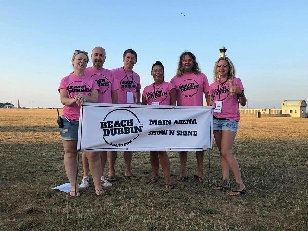 The Beachdubbin' dream team!