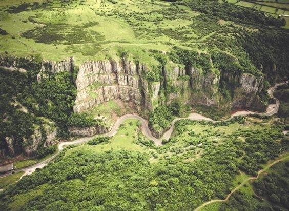 Cheddar Gorge Pinterest