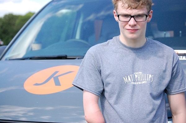 Matt Phillips GB Paraclimber - JK Sponsored