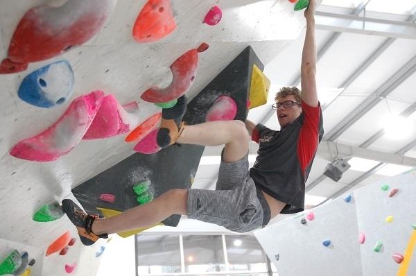 Matt Phillips GB Paraclimber