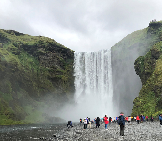 Family holiday in Iceland