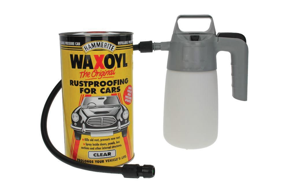 Waxoyl Kit (2.5litre) With Pump