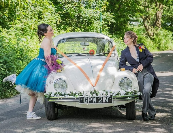 Just Married Beetle Hire