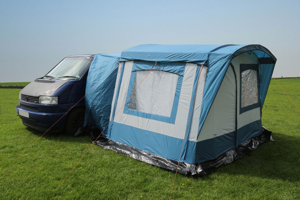 Just Kampers' Retro Awnings Blue