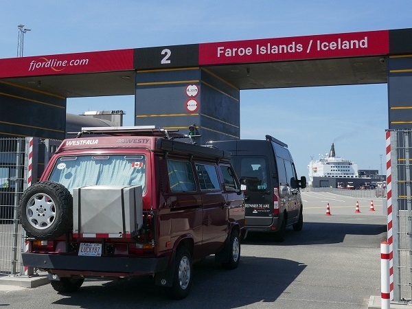 At the ferry terminal