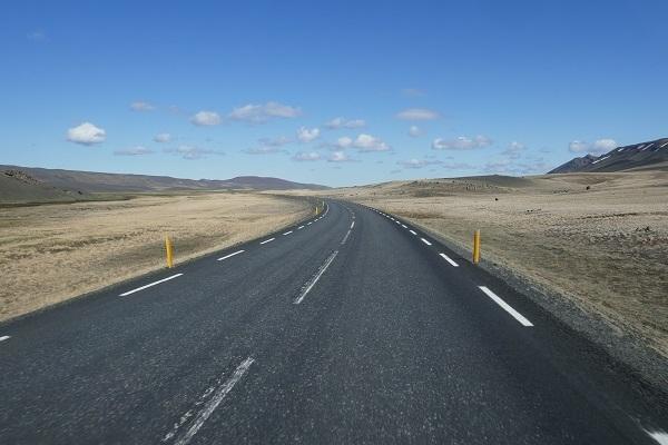Asphalt ring Road