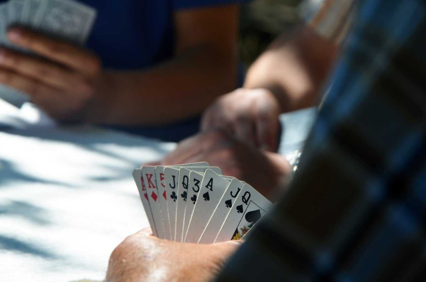 A pack of cards
