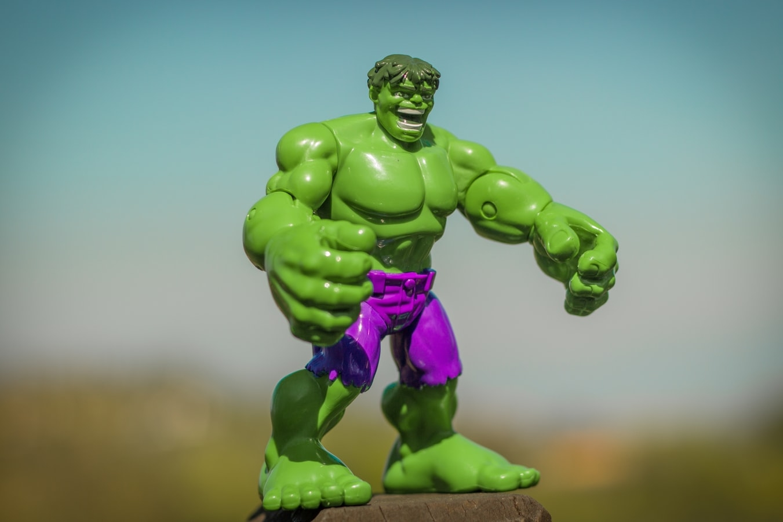 Don't be like Hulk...