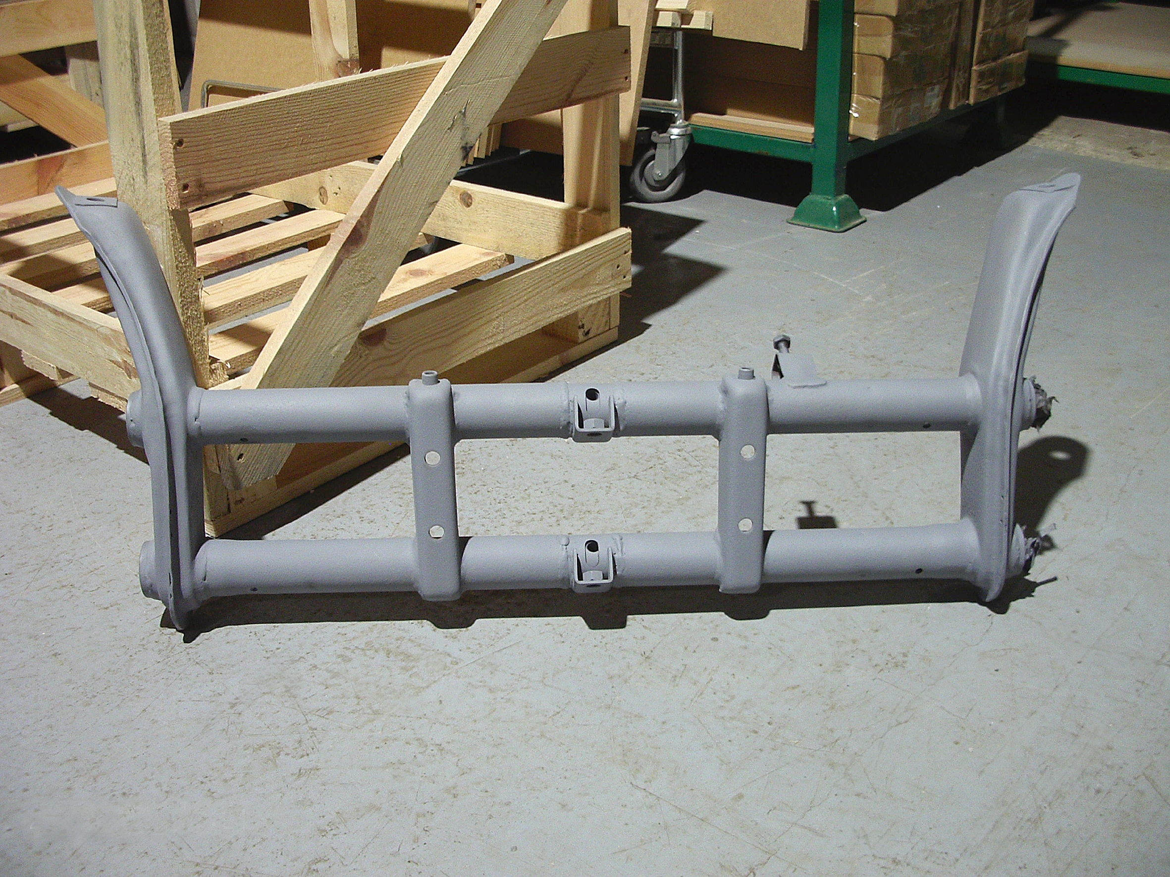 Front beam